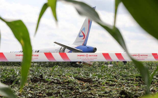 В Раменском районе ограничили автодвижение из-за самолета