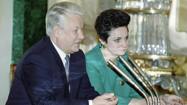 Приснопамятный Борис Николаевич с дорогой Екатериной Филипповной