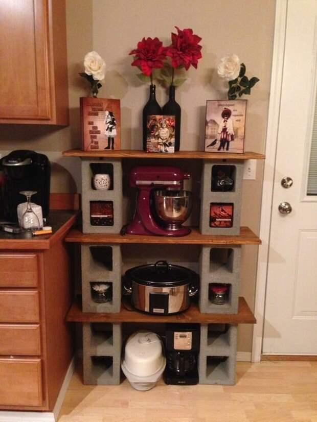 11. На кухне можно смастерить дополнительный шкаф декор, дизайн, идеи для дома, интересно, лайфхаки, очумелые ручки, своими руками, фото