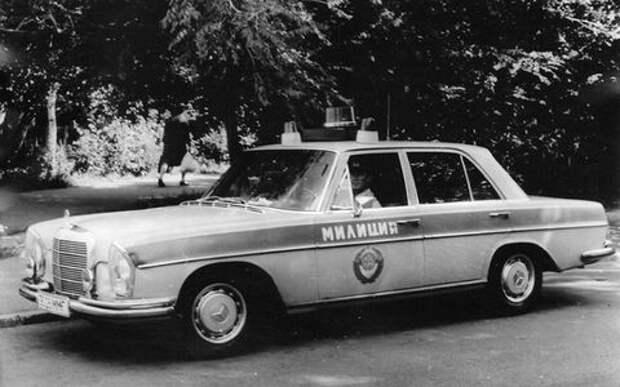 15 моделей Мерседес в СССР: кто на них ездил?
