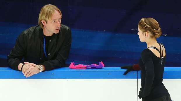 Косторная поздравила Плющенко с днем рождения: «Желаю, чтобы сбывались мечты и спортсмены приносили только радость»