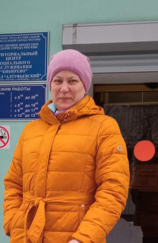 Соцработник помогла пенсионерке из Алтуфьева вылечить кота