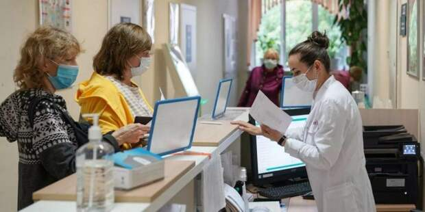 Бесплатный онкоскрининг в поликлиниках прошли 40 тысяч москвичей фото: mos.ru