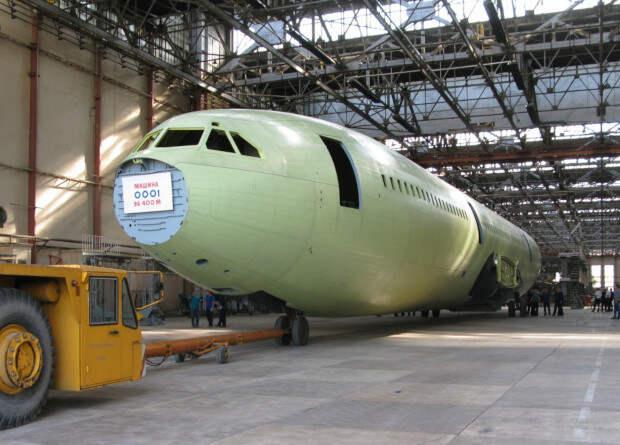 Завершилась стапельная сборка первого по программе воспроизводства Ил-96