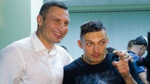 Крымский спортсмен померился силами с младшим Кличко (ФОТО)