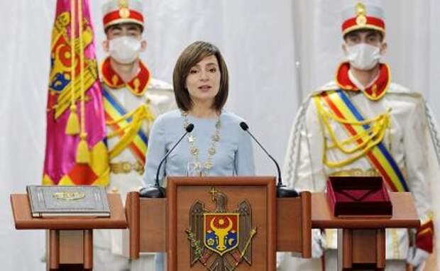 Санду готовится стть владычицей Молдовы