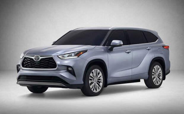 Новый Toyota Highlander избавился от лезвий на «лице»
