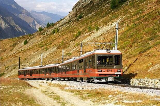 Chbahns37 Топ 5 самых необычных железных дорог Швейцарии