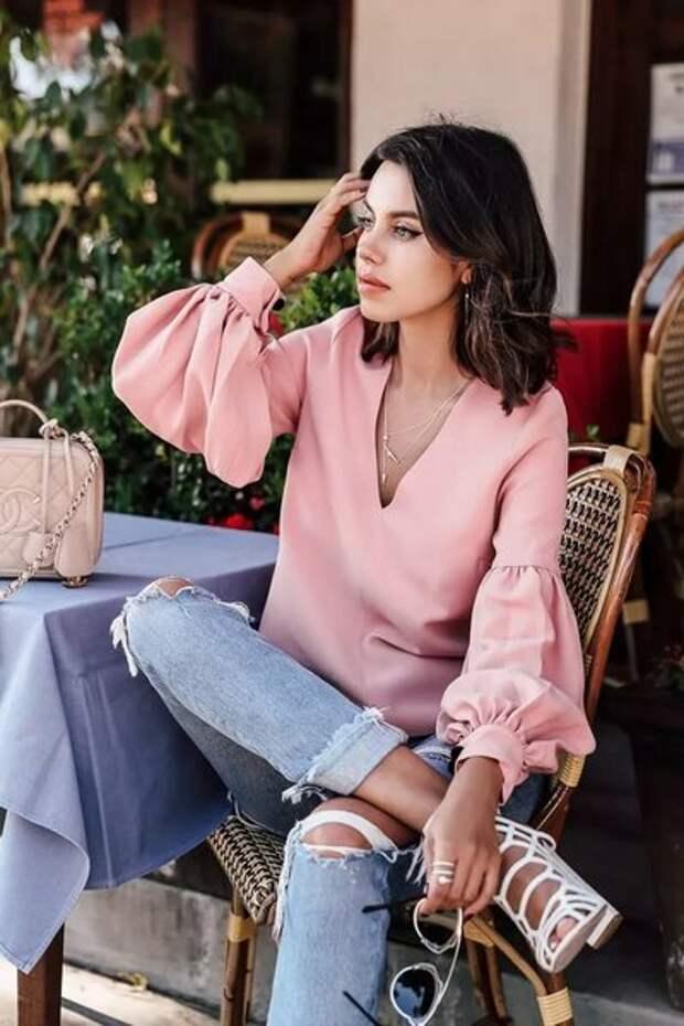5 блузок, в которых женщина за 45+ будет выглядеть роскошно и соблазнительно