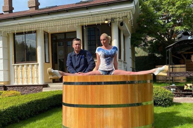 Волочкова продаёт купель, чтобы оплатить штрафы изДивеево