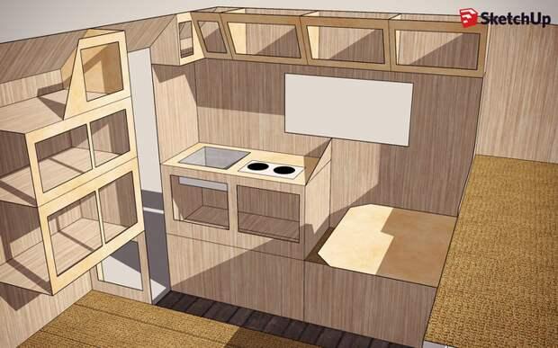 """Кемпер """"Пилигрим"""". Строю новый жилой модуль для пикапа автодом, автотуризм, кемпер, пилигрим, самоделка"""