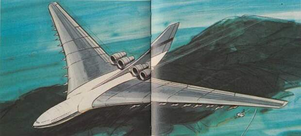 Сон разума...(Lockheed CL-1201-1)