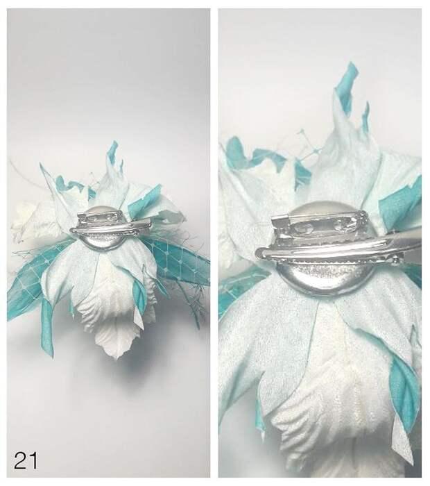 Зимняя фантазия: как сделать орхидею из шёлка