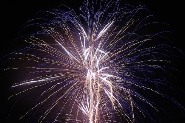 В США произошел взрыв на складе с фейерверками