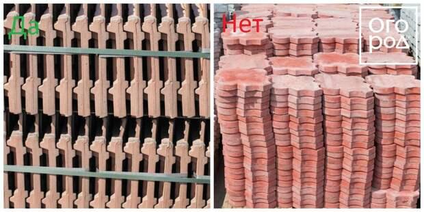 Коллаж - хранение плитки