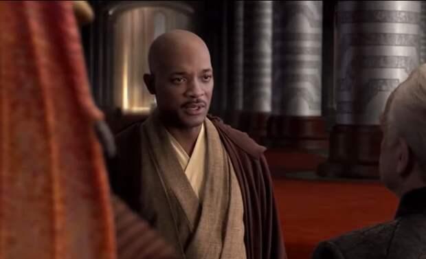 Дипфейк дня: Уилл Смит в роли Мейса Винду в «Звездных войнах»