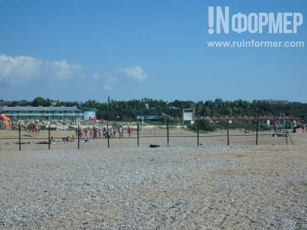 Пляж «Любимовка» для людей!