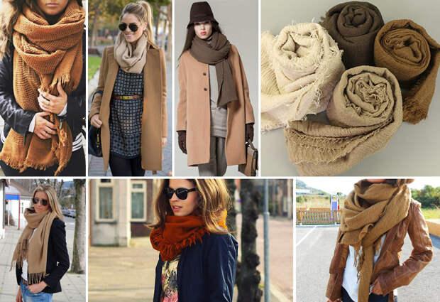 Новое в привычном: оригинальные способы носки палантина и шарфа