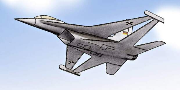 В рамках программы Taktisches Kampfflugzeug позднее Taktisches Kampfflugzeug 90,или TKF-90 изучались самые разные инеобычные варианта. Например, Dornier изучала вариант возврата ксхеме биплана, нона новых технологиях