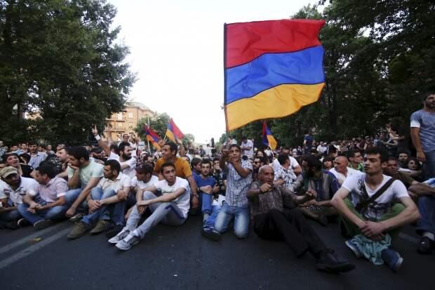 ВАрмении произошла «стальная революция», — Пашинян