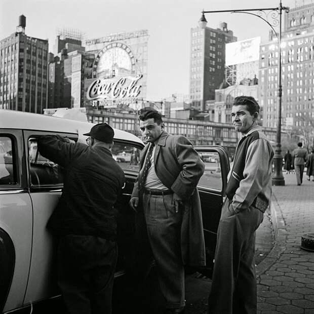 Улицы США  1950-1960-ых годов.