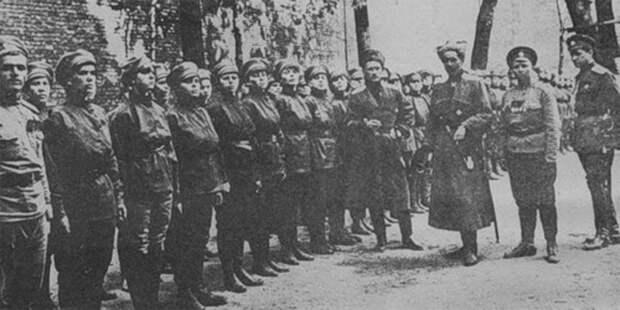 Русская Жанна д'Арк Мария Бочкарева и ее женский «батальон смерти»