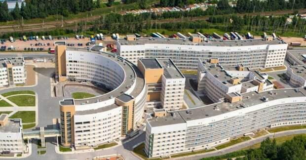 Боткинская больница. Фото из архива