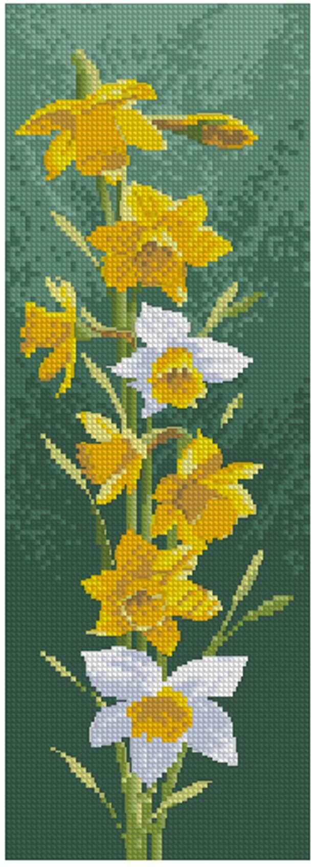 Цветочные панели. Нарциссы