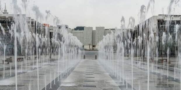 Власти Москвы рассказали о самых эффектных городских фонтанах
