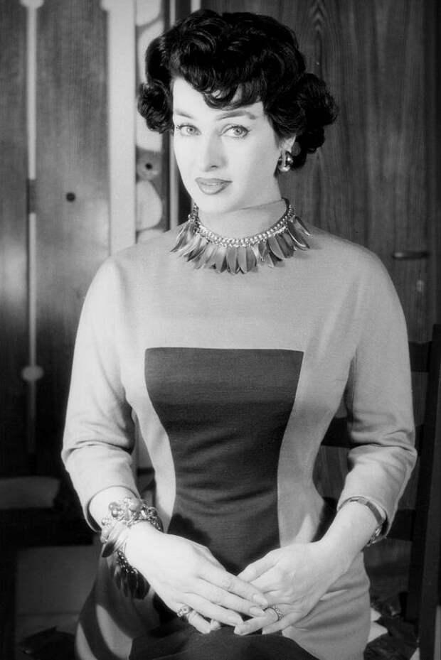 Итальянская актриса Сильвана Пампанини