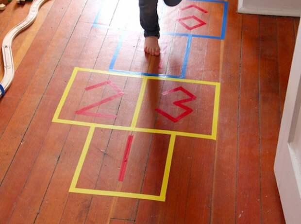 Детская площадка в доме