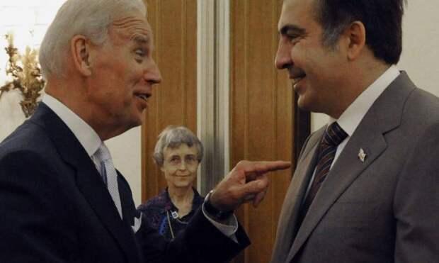 Саакашвили похвастался, что Байдена назначили вице-президентом США не без его участия