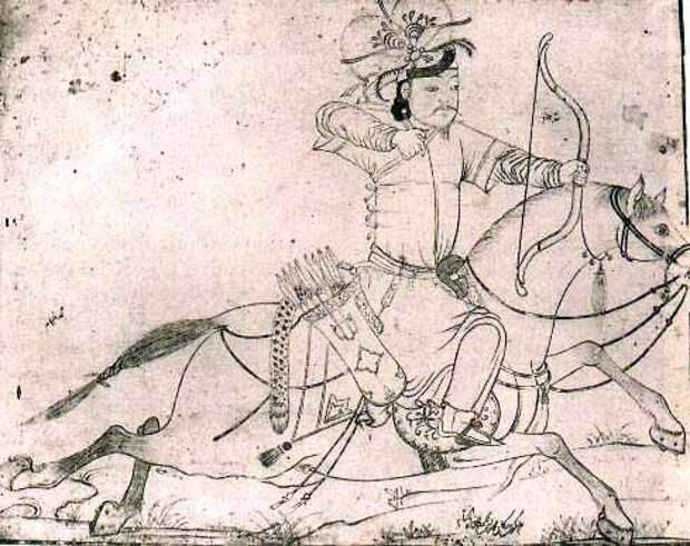 Монголы в средневековой миниатюре