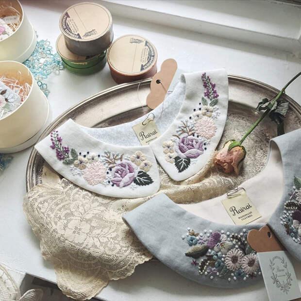 Фото - 7 Невыносимая нежность бытия: потрясающая вышивка Wakako Horai