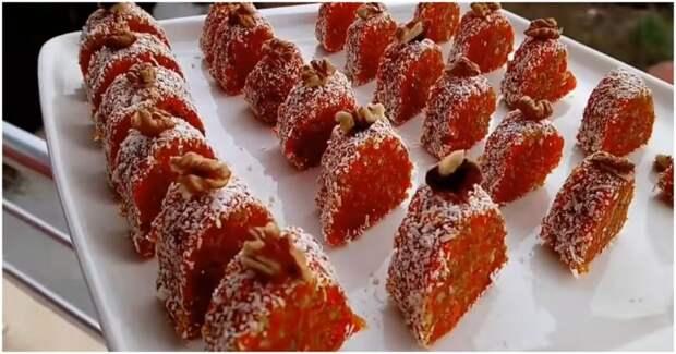 Если у вас есть 15 минут и морковь, сделайте этот крутой десерт: и без духовки