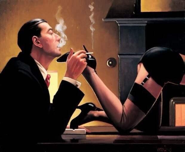 Романтика и страсть в картинах Джека Веттриано