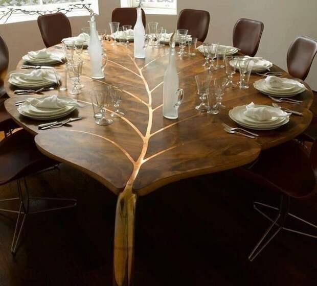 Необычные столы-мечта, от которых вы точно будете в восторге Фабрика идей, идеи, красота, мечта, столы, талант, умельцы