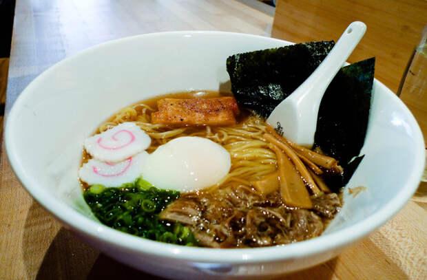 Лапша как в Японии: из одной основы закуска, суп и горячее