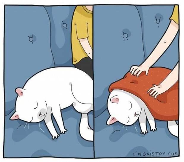 Комиксы о кошках