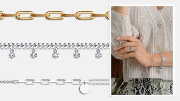 Золотые руки: трендовые браслеты осени-зимы