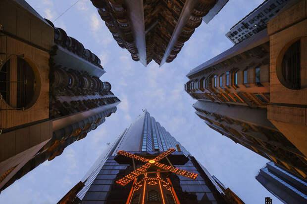 Вертикальный горизонт Гонконга гонконг, город, небоскрёбы, фото