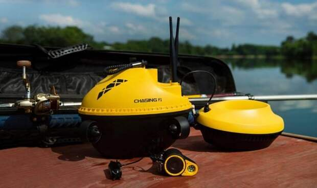 Надводный дрон для помощи рыбакам Fish Finder Chasing F1