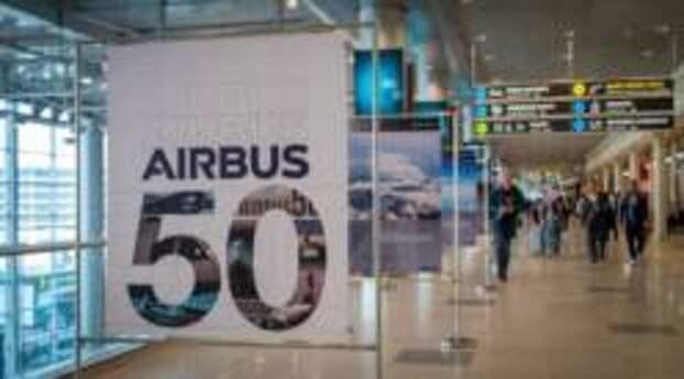 В Московском аэропорту Домодедово открылась выставка к 50-летию Airbus