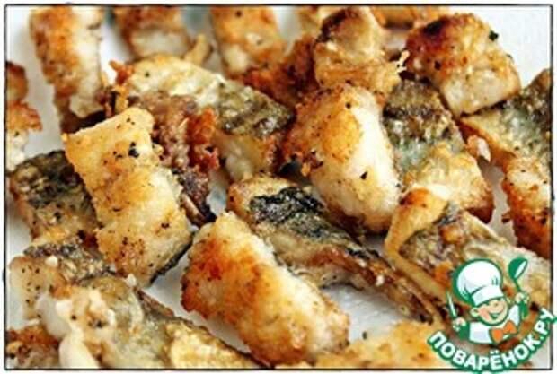 Рыба в чесночно-сливочном соусе Соус