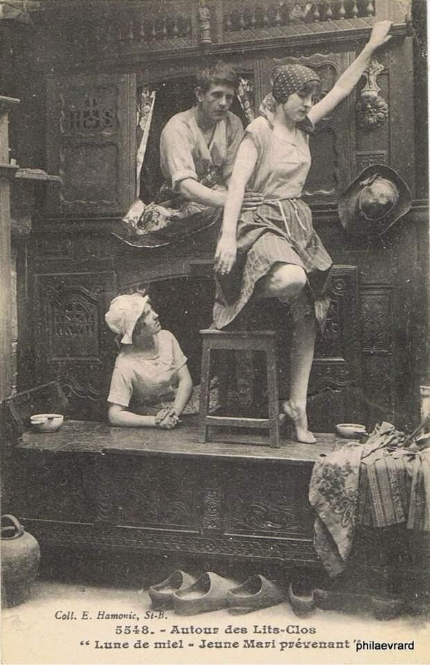 Бретонский ренессанс: шкафы-кровати (трафик)