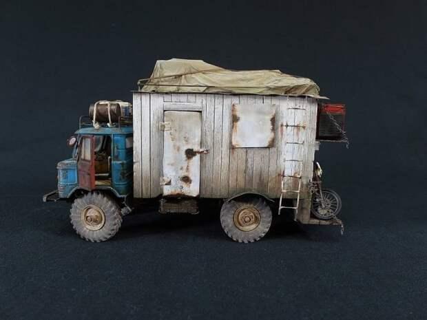 Реалистичная и невероятно детализированная миниатюрная копия ГАЗ-66