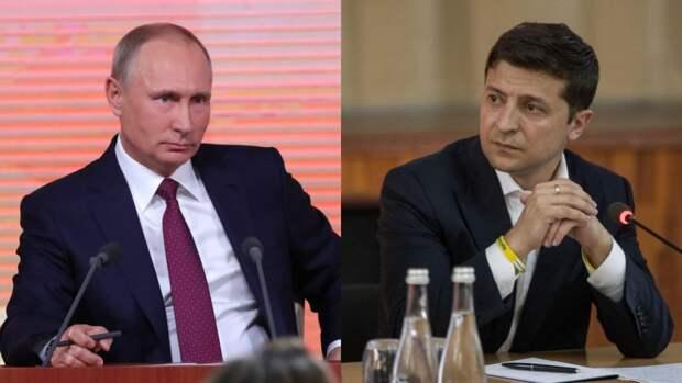 От Зеленского потребовали выложить стенограммы разговоров с Путиным