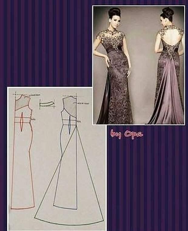 Вечернее платье. Идеи для тех, кто шьет