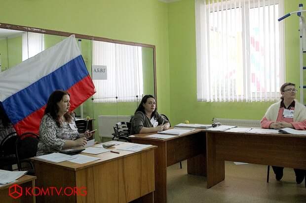 Выборы в Крыму 2018 Избирательный участок №439 (стадион им. Шайдерова) 22