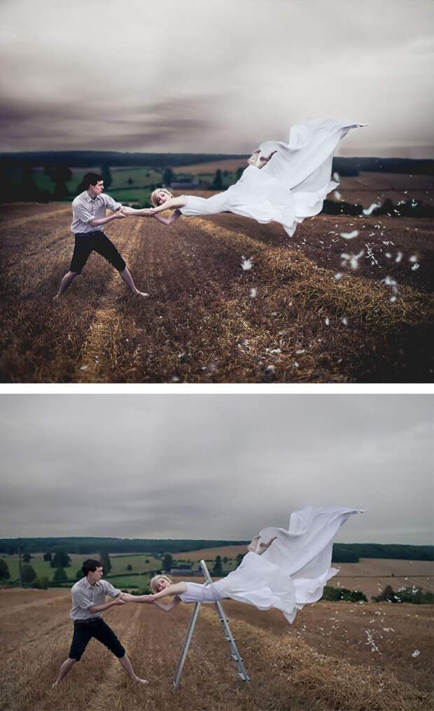 За кадром самых красивых фотографий